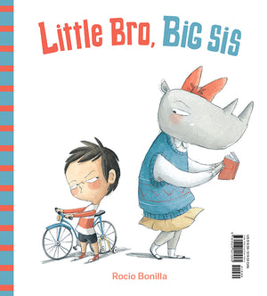 Little Bro, Big Sis: A Flip-Me-Over Book