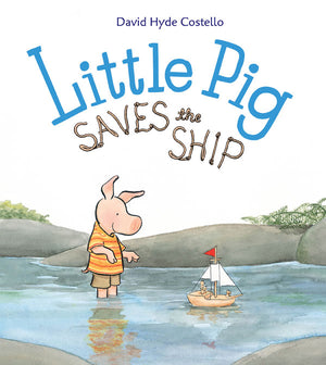 Little Pig Saves the Ship book cover