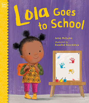 Lola Goes to School book cover