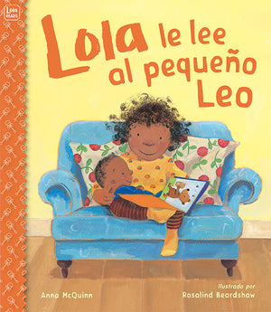 Lola le lee al pequeno Leo book cover