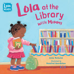 Lola at the Library with Mommy book cover