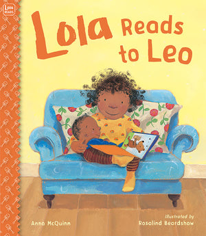 Lola Reads to Leo book cover