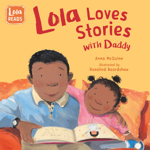 Lola Loves Stories with Daddy book cover