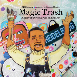 Magic Trash book cover image