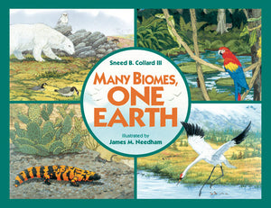 Many Biomes, One Earth book cover