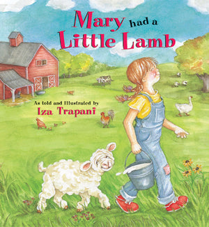Mary Had a Little Lamb book cover