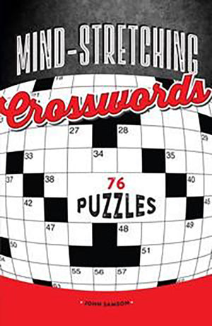 Mind-Stretching Crosswords book cover image