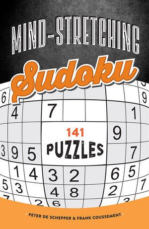 Mind-Stretching Sudoku book cover image