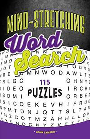 Mind-Stretching Word Search book cover image