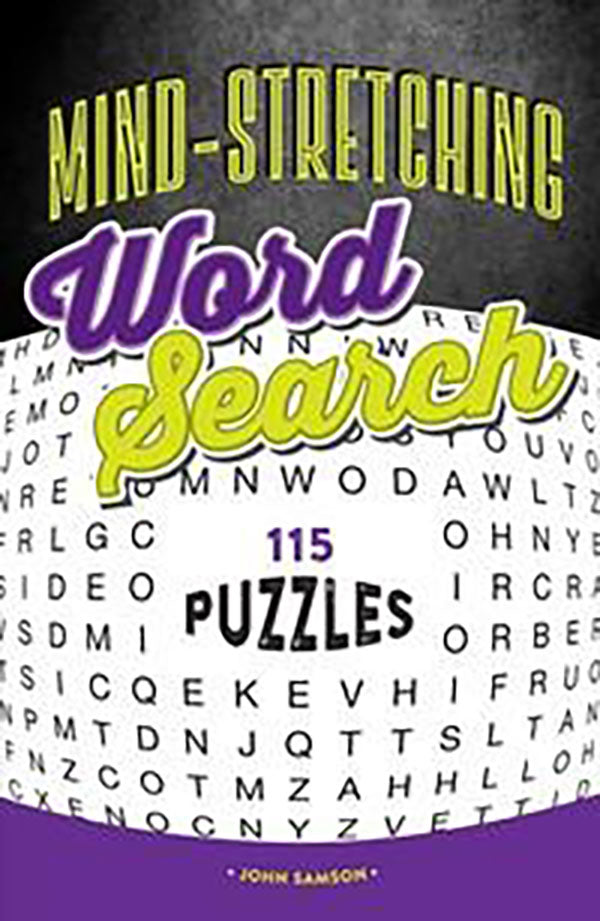 Mind-Stretching Word Search: 115 Puzzles