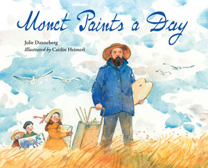 Monet Paints a Day book cover