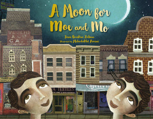 A Moon for Moe and Mo book cover image