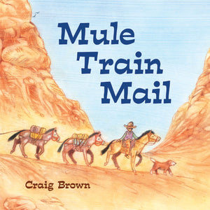 Mule Train Mail book cover
