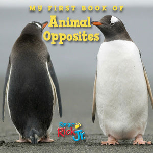 My First Book of Animal Opposites book cover