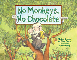No Monkeys, No Chocolate book cover