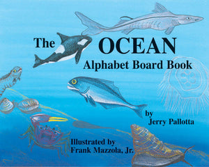 The Ocean Alphabet Board Book cover image