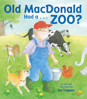 Old MacDonald Had a . . . Zoo? book cover