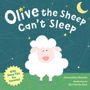 Olive the Sheep Can't Sleep book cover