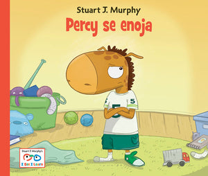 Percy se enoja book cover