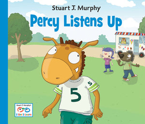 Percy Listens Up book cover