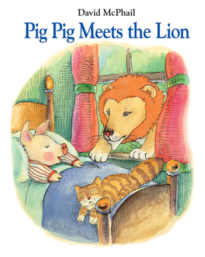 Pig Pig Meets the Lion book cover
