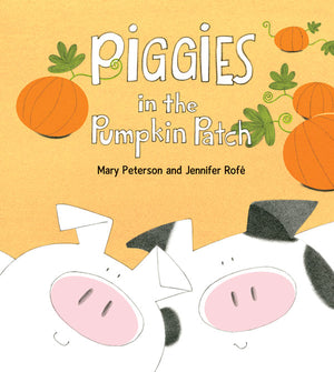 Piggies in the Pumpkin Patch book cover