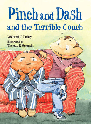 Pinch and Dash and the Terrible Couch book cover