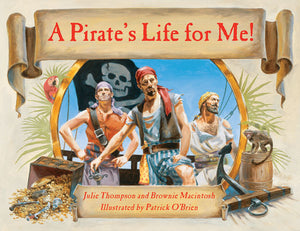 A Pirate's Life for Me! book cover image