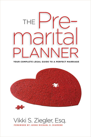 The Pre-Marital Planner book cover image