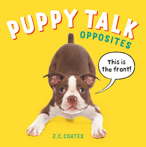 Puppy Talk: Opposites book cover