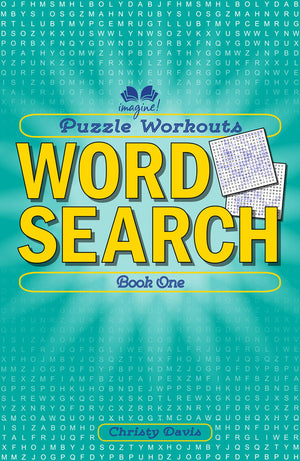 Puzzle Workouts: Word Search book cover image