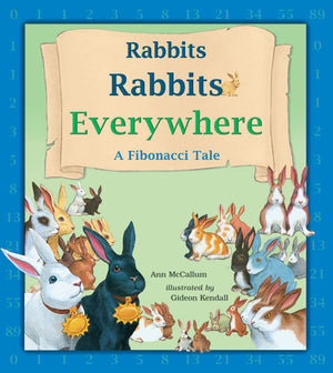 Rabbits Rabbits Everywhere book cover