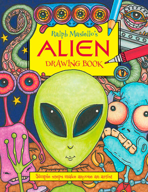 Ralph Masiello's Alien Drawing Book cover image