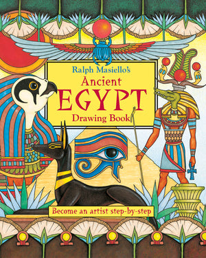 Ralph Masiello's Ancient Egypt Drawing Book cover image