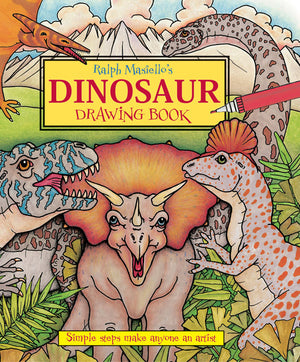 Ralph Masiello's Dinosaur Drawing Book cover image