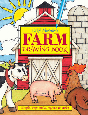 Ralph Masiello's Farm Drawing Book cover image
