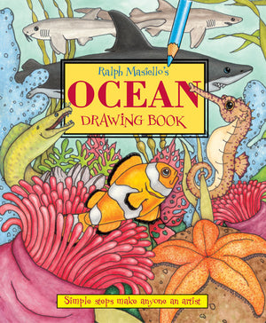 Ralph Masiello's Ocean Drawing Book cover image