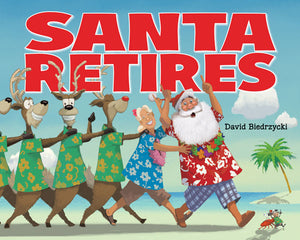 Santa Retires book cover