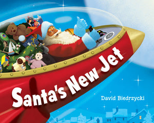 Santa's New Jet book cover