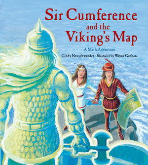 Sir Cumference and the Viking's Map book cover