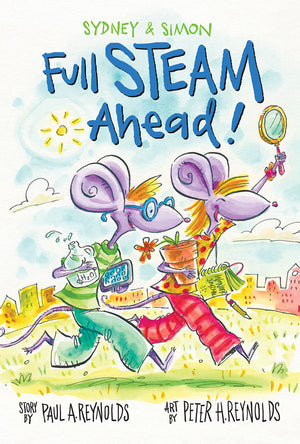 Sydney & Simon: Full Steam Ahead! book cover image