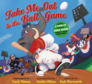 Take Me Out to the Ball Game book cover image