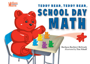 Teddy Bear, Teddy Bear, School Day Math book cover