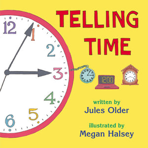 Telling Time book cover
