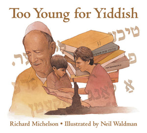 Too Young For Yiddish book cover