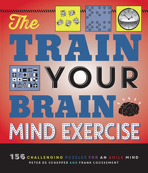 The Train Your Brain Mind Exercise book cover