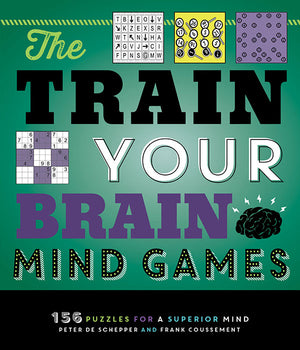 The Train Your Brain Mind Games book cover image