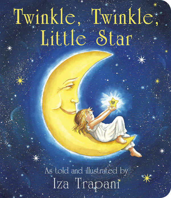 Twinkle, Twinkle, Little Star Board Book