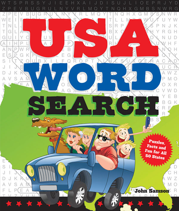 USA Word Search: Puzzles, Facts, and Fun for 50 States ...