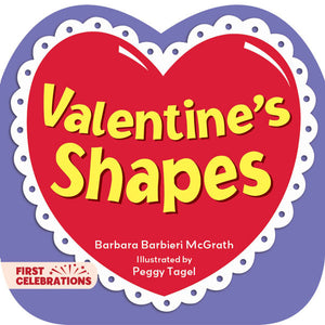 Valentine's Shapes book cover